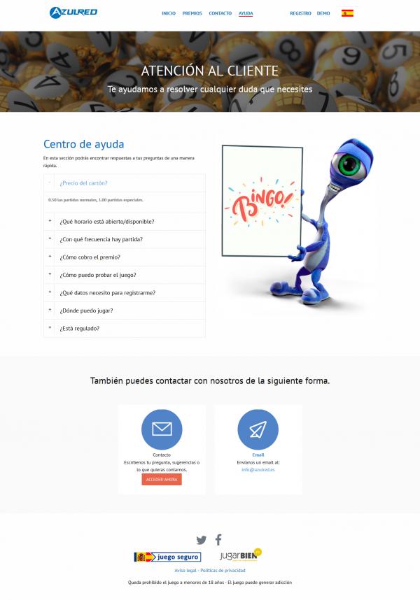 Azulred Bingo Electrónico - Neutralseo