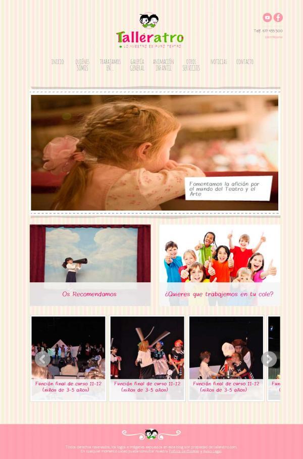 Diseño web Valencia - NeutralSEO - Talleratro