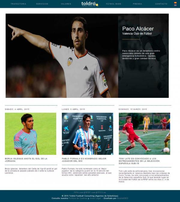 Diseño web Valencia - Paco Alcacer - NeutralSEO - Toldrá