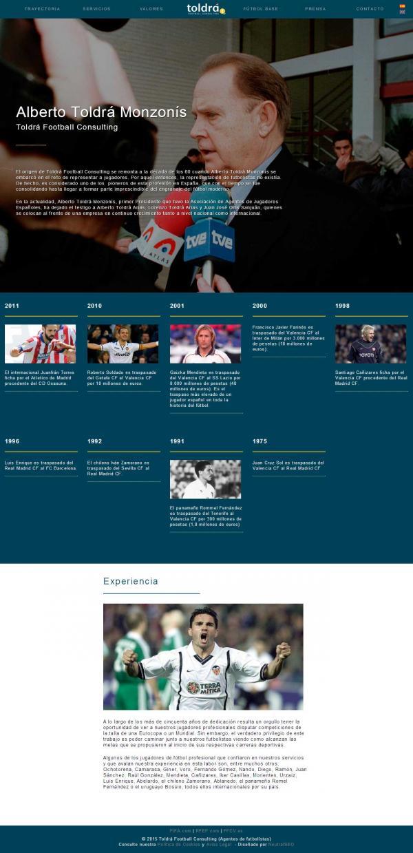 Diseño web Valencia - Alberto Toldrá - NeutralSEO - Toldrá