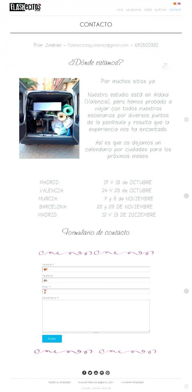 Flashecitos - Diseño web Valencia - NeutralSEO